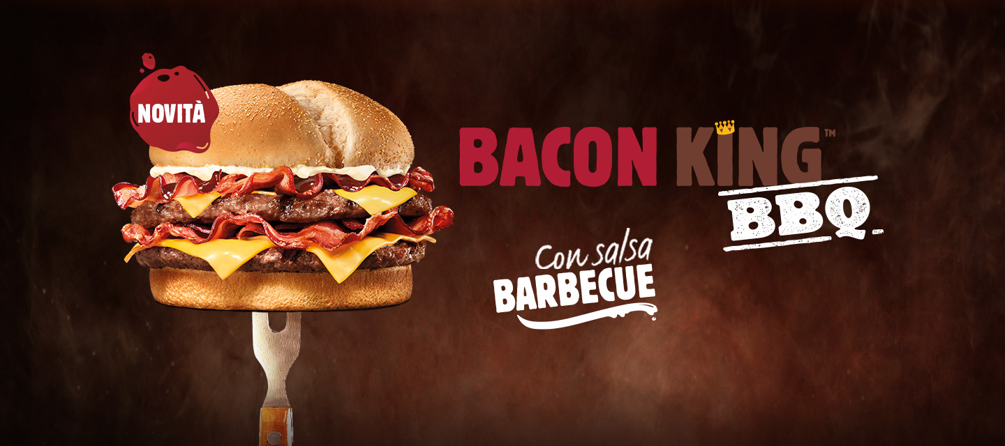 Carne Bacon King BBQ Banner